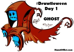 Drawlloween Ghost