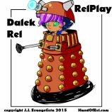 Doctor Who Dalek Rel Relplay