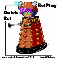 Doctor Who Dalek Rel Relplay
