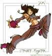 Street Fighter Juri Fan Art