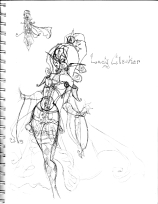 Lady Clocker
