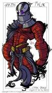 Knight of the Old Republic Malak Fan Art