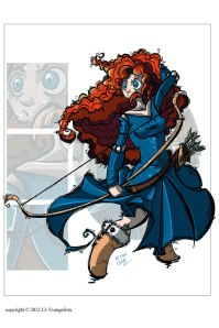 Brave Merida Fan Art