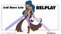 Star Wars Slave Leia Relplay 18-years-old