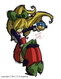 Mega Man Roll Fan Art