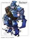 Final Fantasy IX Steiner Fan Art