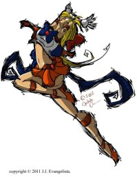 Sailor Venus Fan Art