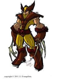 X-Men Wolverine Fan Art