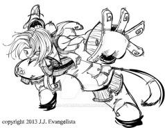 Zidane from Final Fantasy IX fanart