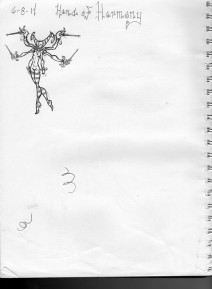 Hand of Harmony Doodle