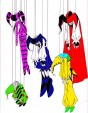 Puppet Masters Hanging