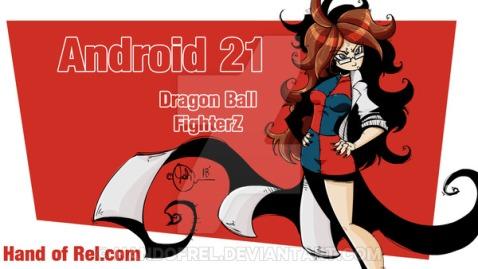 Android 21 Fanart