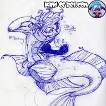 Mermay Day 5- Chenin Dragonet