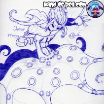 Mermay Day 10- Danteor Blur Ring Octopus