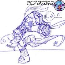 Sketch--Amokri-Run