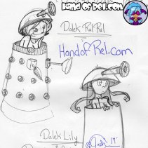 Sketch--Dalek-Rel-and-Lily-Doodle