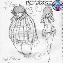 HandofRel_Sketch--Father-&-Mother-Original-Sketch