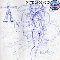 HandofRel_Sketch--Penri-Design-Bookpack