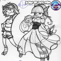 HandofRel_Sketch--Rel-and-Lily-Design-Ideas
