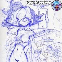 HandofRel_Sketch--Rel-Goku-Hair-Sketch