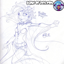 Inktober Day2- Rydia Daily Doodle