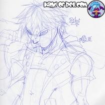 Riku Fanart (Kingdom Hearts 3)