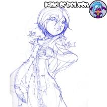 Xion Fanart (Kingdom Hearts 3)